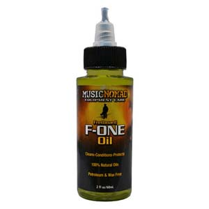Music Nomad F-ONE Fretboard Cleaner and Conditioner Oil