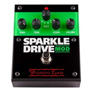 Voodoo Lab Sparkle Drive MOD Guitar Overdrive Pedal