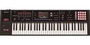 Roland FA06 61 Key Synthesizer Workstation Keyboard