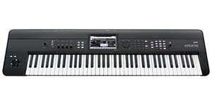 Korg Krome73 73 Key Synthesizer Workstation Keyboard