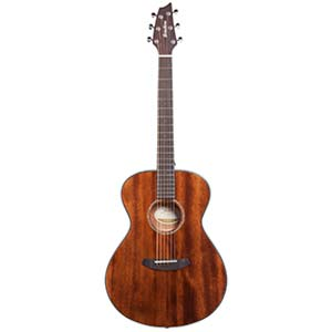Breedlove Pursuit Concert E Acoustic Electric All Mahogany with Bag