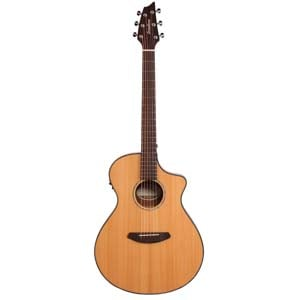 Breedlove Pursuit Concert Acoustic Electric Guitar wGig Bag