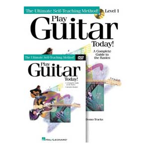 Hal Leonard Play Guitar Today Beginner Package