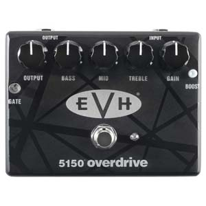 Dunlop EVH5150 Overdrive Effects Pedal