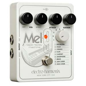 Electro-Harmonix MEL9 Tape Relay Machine Effects Pedal