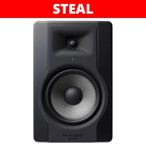 M Audio BX8 D3 8 Inch Powered Studio Monitor