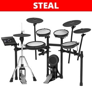Roland TD17KVXS V-Drums Electronic Bluetooth All Mesh Drum Set