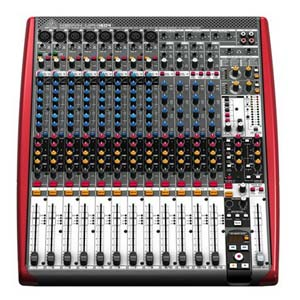 Behringer XENYX UFX1604 16 Channel USB Audio Mixer