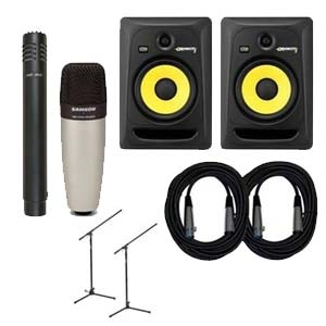 KRK Rokit 8 Generation 3 Powered Studio Monitor Package