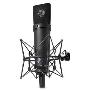 Neumann U87 Ai Set Z MultiPattern Large Diaphragm Condensor Microphone With Shockmount And Case