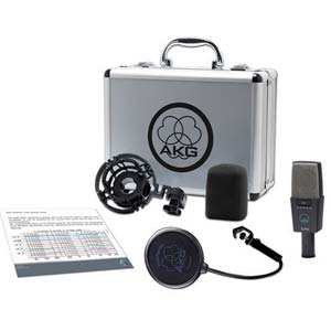 AKG C414XLS Reference Multi Pattern Large Diaphragm Condenser Mic