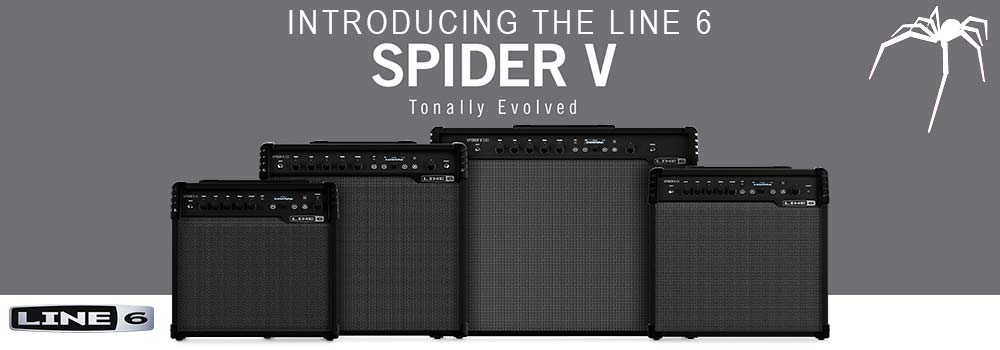 Introducing the Line 6 Spider V Amplifiers