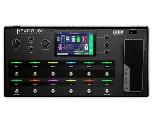 HeadRush Pedalboard Guitar Effects and Amp Modeling Pedal Board