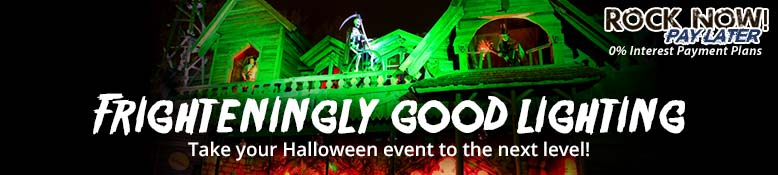 Frighteningly Good Lighting - Take your Halloween event to the next level!