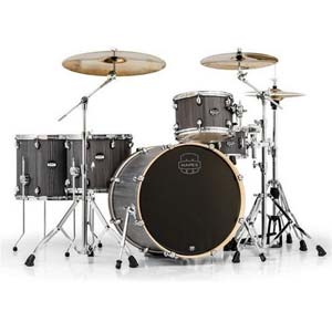 Mapex Mars Crossover 5 Piece Birch Shell Kit Drum Set Smokewood