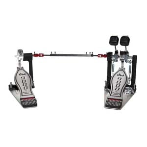 Drum Workshop 9002 Double Bass Drum Pedal With Plates