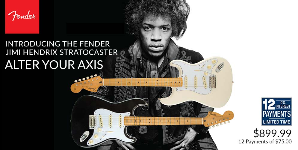 Introducing the Fender Jimi Hendrix Stratocaster - Alter Your Axis