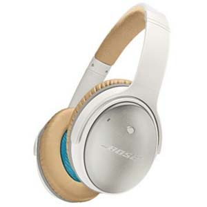 Bose QuietComfort 25 Acoustic Noise Cancelling Headphones iOS White