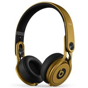 Beats by Dre Mixr On Ear Headphones Gold