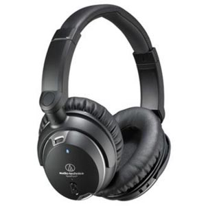 Audio-Technica ATHANC9 QuietPoint Active Noise Cancelling Headphones