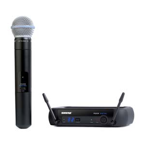 Shure PGX Digital Handheld Wireless Mic System with Beta 58A
