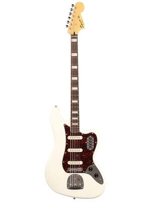 Squier Vintage Modified Bass VI 6 String Olympic White