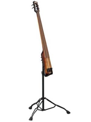Ibanez Bass Workshop UB804 Upright Bass with Bag Mahogany Oil Burst