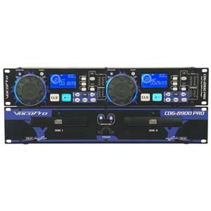 VocoPro CDG8900 PRO Dual Tray CD Player