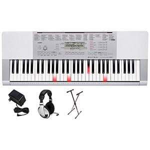 Casio LK280 61 Key Lighted Portable Keyboard Premium Package