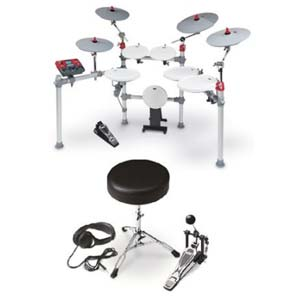 KAT KT3 Advanced Electronic Drum Kit With KT2EP4 Expansion Pack