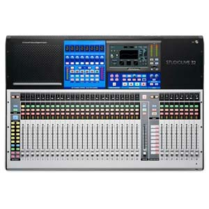 PreSonus StudioLive 32 32 Channel Digital Mixer With Total Recall