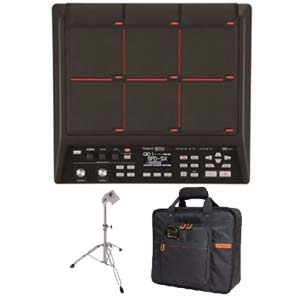 Roland SPDSX Sampling Multi Surface Pad With Carry Bag and PDS10 Stand