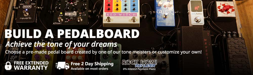 Build a Pedal board of your dreams!