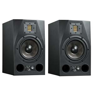 "ADAM A7X 7"" 2-Way Powered Studio Monitor With Ribbon Tweeter Pair"