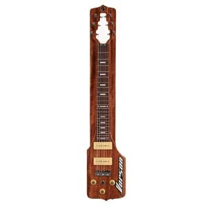 Vorson SL 100E Straight Lap Steel Guitar Package Natural