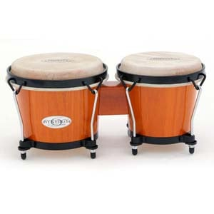 Toca 2100 Synergy Wood Bongos Amber