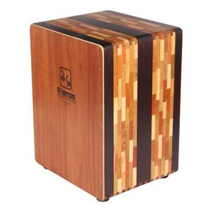 A Tempo Percussion El Artesano CJELART01 Cajon with free bag