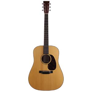 Martin D18 Acoustic Guitar Natural with Case
