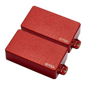 EMG GH SET RED Gary Holt Signature Pickup Set