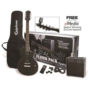 Epiphone Les Paul Special II Player Pack Electric Guitar Package Ebony