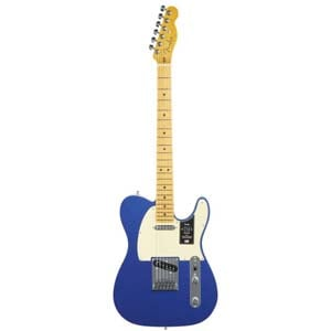 Fender American Ultra Telecaster Maple Neck Cobra Blue with Case