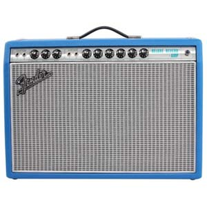 Fender Exclusive 68 Custom Deluxe Reverb Electric Blue 1x12 Tube Amp