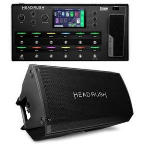 HeadRush Pedalboard and FRFR112 Powered Cabinet