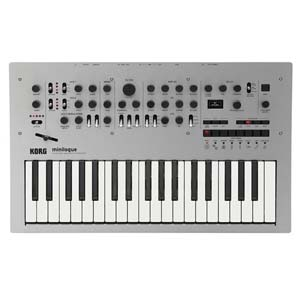 Korg Minilogue 4 Voice Analog Polyphonic Synthesizer with Sequencer