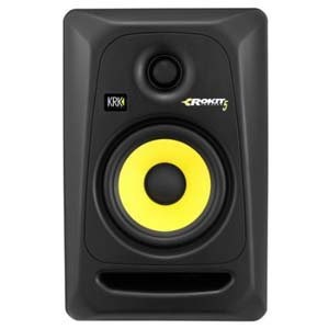 KRK RP5G3 Rokit 5 G3 5 Inch 2 Way Powered Studio Single Monitor Only