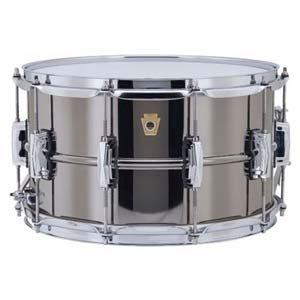 Ludwig Black Beauty 8X14 Snare Drum Supra Phonic