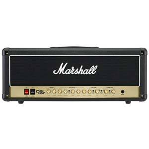 Marshall DSL100H Dual Super Lead 100 Watt Guitar Amplifier Head