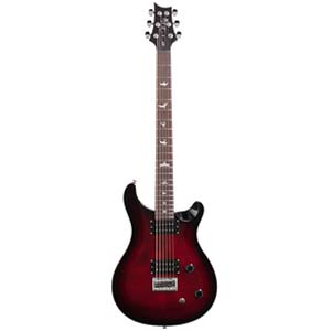 PRS SE 277 Baritone Electric Guitar Fire Red with Gig Bag