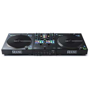 Rane Seventy Two Mixer with a Pair of Twelve DJ Controller
