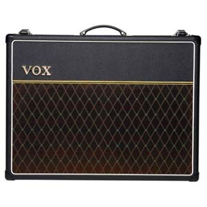 Vox AC30C2 Custom Tube Guitar Combo Amplifier with Alnico Blue Speakers